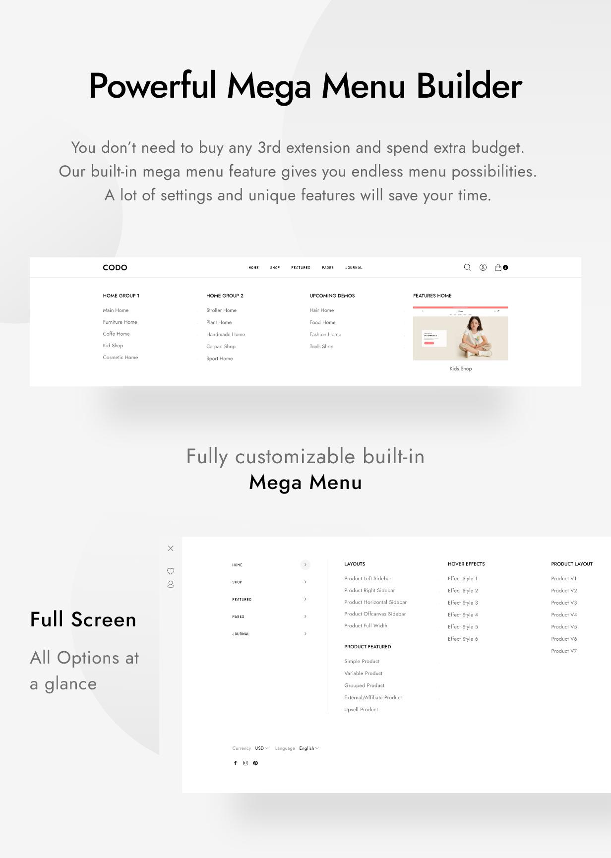 Codo - Modern & Minimal Shopify Theme - 8