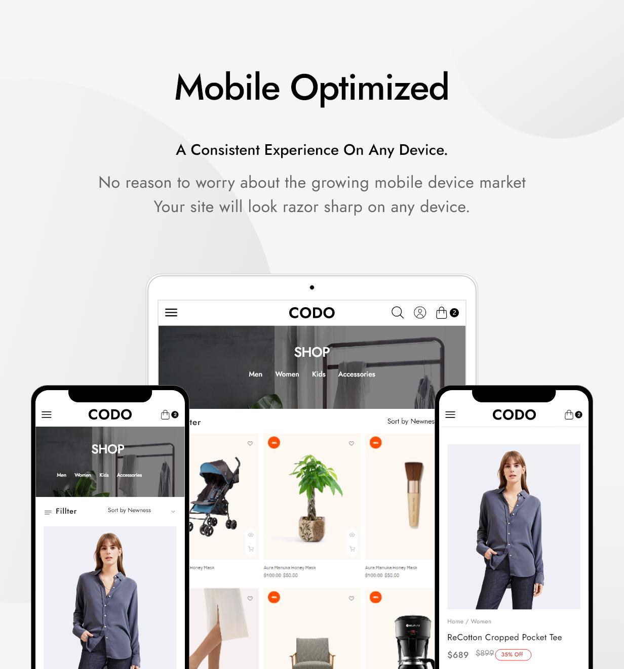 Codo - Modern & Minimal Shopify Theme - 7